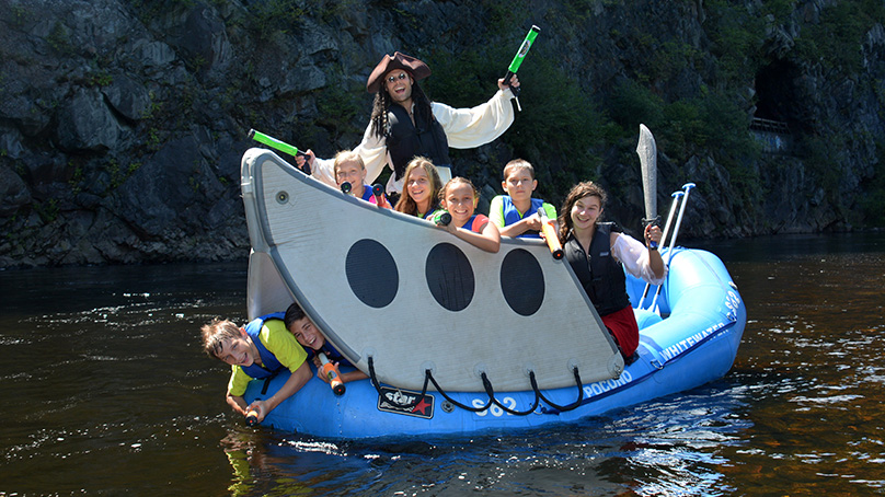 Pocono Pirate Rafting Photos