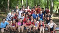 pocono whitewater rapids rafting raft group Poconos