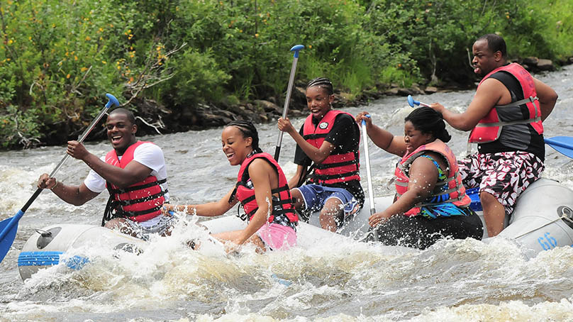 family style whitewater rafting poconos jim thorpe