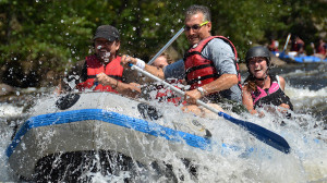 c16b45754b894 Come whitewater raft the Lehigh River when the water levels are at their  highest. Water released from the Francis E. Walter Dam raises water levels  and ...